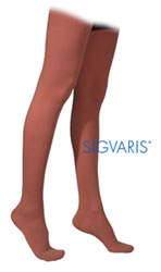 Sigvaris Cotton Series Thigh High with Grip Top - Closed Toe (Mens & Womens)