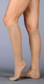 Juzo Naturally Sheer Compression Stockings (Closed Toe)