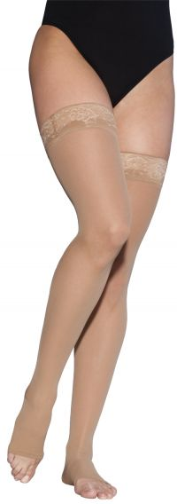 EverSheer Open Toe Thigh High Stockings by Sigvaris