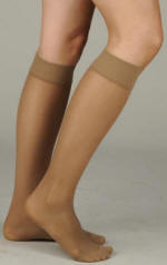Juzo Women's Attractive Sheer Knee Highs - OTC
