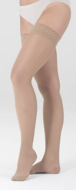 Mediven Sheer & Soft Closed Toe, Regular Length, Thigh High Compression Stockings